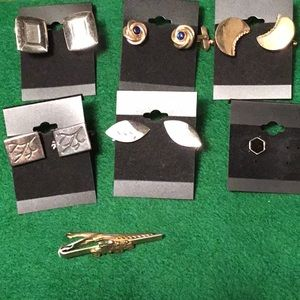 Other - Vintage Cuff Links & TieTacs